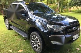 Black Ford Ranger 2016 for sale in Manila