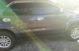 Grey Toyota Fortuner 2010 for sale in Cebu