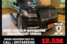 2020 LINCOLN NAVIGATOR BULLETPROOF ARMOR