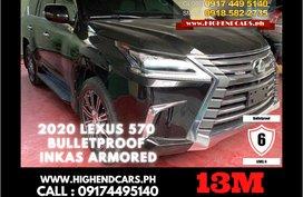 2020 LEXUS 570 BULLETPROOF INKAS ARMORED