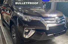Brand New 2020 Toyota Fortuner V Bulletproof Level 6 4X4 (Top of The Line) Bullet Proof Armored