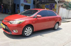 Sell Red 2017 Toyota Vios Sedan in Valenzuela
