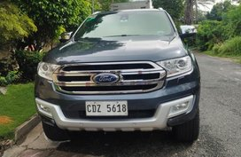 Black Ford Everest 2016 for sale in Angeles City