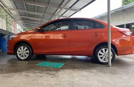 Orange Toyota Vios 2018 for sale in Quezon City