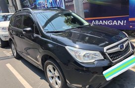 Black Subaru Forester 2015 for sale in Valenzuela