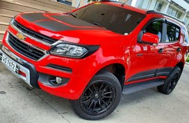 Red Chevrolet Trailblazer 2017 for sale in Quezon City