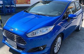 Sell Blue 2016 Ford Fiesta in Parañaque