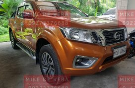 Orange Nissan Navara 2019 for sale in Quezon City