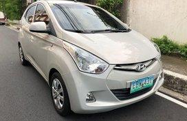 Silver Hyundai Eon 2014 for sale in Quezon City