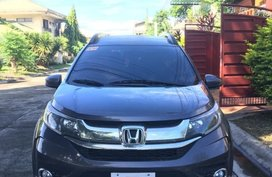 Silver Honda BR-V 2019 for sale in Davao City