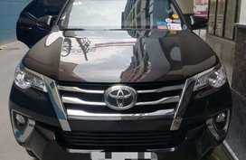 Toyota Fortuner black 2018 for sale