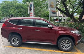 Red Mitsubishi Montero Sport 2016 for sale in Manila