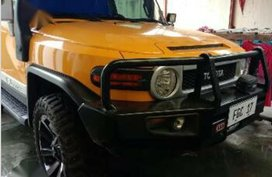 Yellow Toyota Fj Cruiser for sale in Malabon