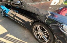 Black Mercedes-Benz E-Class 2016 for sale in Manila