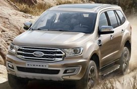 Sell Silver 2020 Ford Everest in Manila