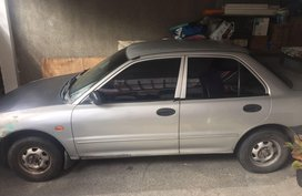 Silver Mitsubishi Lancer 1996 for sale in Quezon City