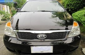 Black Kia Carnival 2012 for sale in Pasig