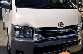Sell White 2018 Toyota Hiace in Las Piñas