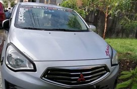 Silver Mitsubishi Mirage g4 for sale in Antipolo