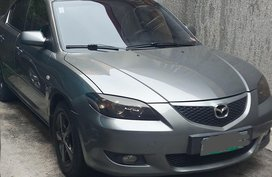 Silver Mazda 3 2005 for sale in Makati