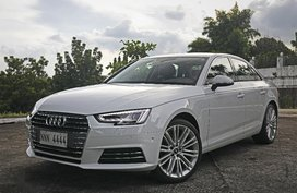 White Audi A4 2017 for sale in Quezon City
