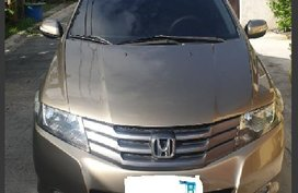 Beige Honda City 2010 Sedan at 95000 km for sale in Manila