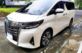 Selling 2018model Alphard, 90% Good condition