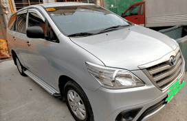 Silver Toyota Innova 2015 at good price for sale in Caloocan