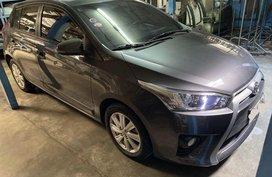 Selling Grey Toyota Yaris 2015 in Manila