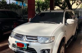 Sell White 2014 Mitsubishi Montero SPT in Manila