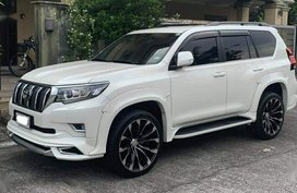 White Toyota Prado 2019 for sale in San Juan
