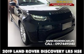 2019 LAND ROVER DISCOVERY LR5 HSE