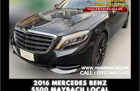 2016 MERCEDES BENZ S500 MAYBACH