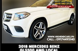 2018 MERCEDES BENZ GLS500 AMG LOCAL
