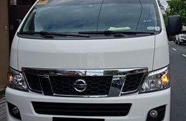 White Nissan Urvan 2017 for sale in Mandaluyong
