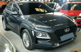 Grey Hyundai Kona 2019 for sale in Manila