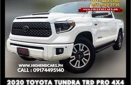 2020 TOYOTA TUNDRA TRD PRO 4X4