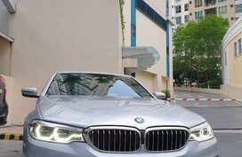 Selling Silver BMW 520D 2018 in Manila