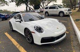 Pearl White Porsche 911 Carrera 2020 for sale in Manila
