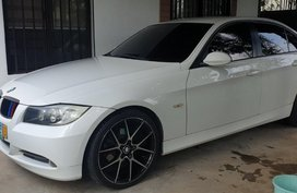 White Bmw 320I 2007 for sale in Valenzuela