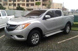 Silver Mazda BT-50 2016 for sale in Manila