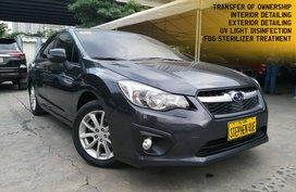 2014 Subaru Impreza 2.0i CVT Automatic Gasoline