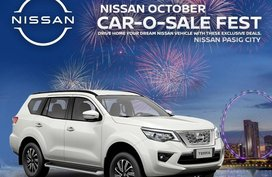 Silver Nissan Terra 2020 for sale in Pasig City