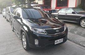 Black Kia Sorento 2015 for sale in Manila
