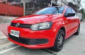 Lockdown Sale! 2015 Volkswagen Polo NB 1.6 MPI Automatic Red 32T Kms Only AHA2518
