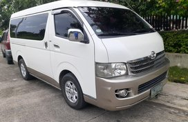 2008 Toyota Hiace Super Grandia Automatic Top of the Line