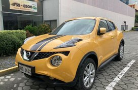 Yellow Nissan Juke 2016 for sale in Manila
