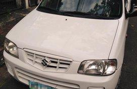 White Suzuki Alto 2013 for sale in Manila