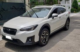 Crystal White Pearl Subaru XV 2018 2.0i-S EyeSight