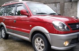 Red Mitsubishi Adventure 2013 for sale in Valenzuela